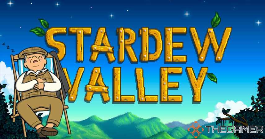 I Love The Way Stardew Valley Progresses With Or Without Your Input