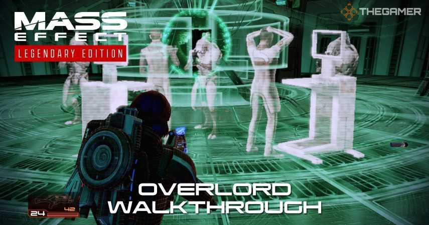 Mass Effect 2: Overlord Walkthrough