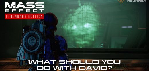 Mass Effect 2: What Should You Do With David?
