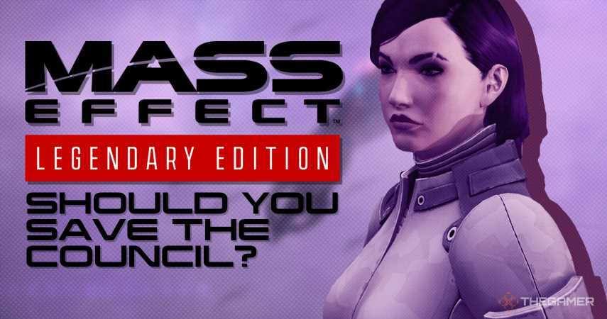 Mass Effect: Should You Save The Council?