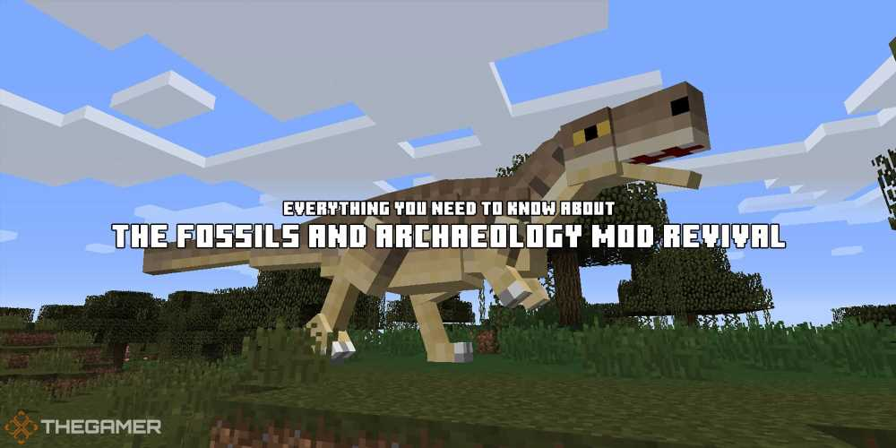 Minecraft: Everything You Need to Know About The Fossils And Archaeology Mod Revival