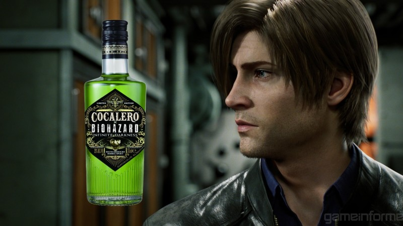 Netflix's Resident Evil TV Series, Infinite Darkness, Gets Its Own Drink Line