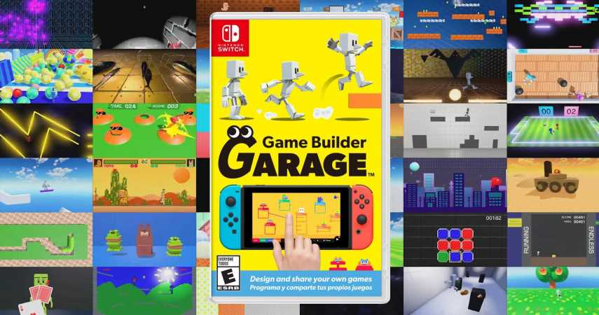 Nintendo Just Announced Its Own Game Building Game, Coming June 11