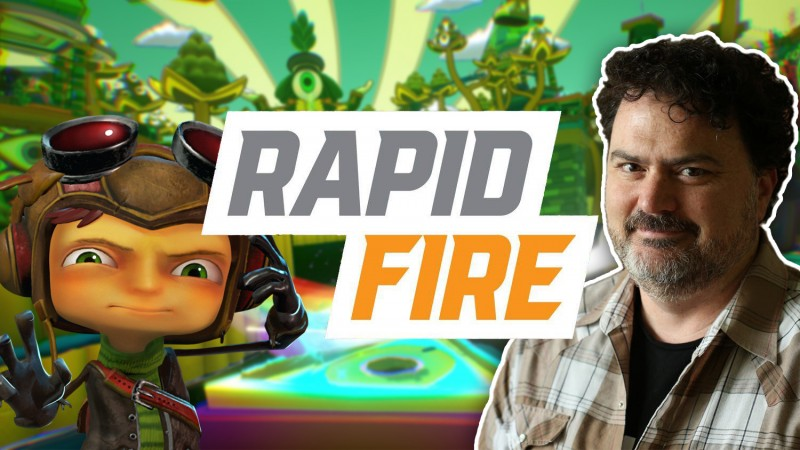 Psychonauts 2: 114 Rapid-Fire Questions With Tim Schafer