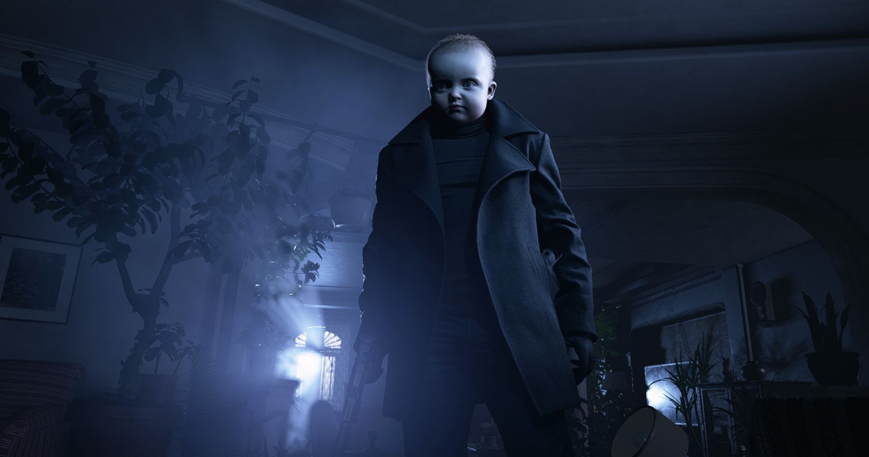 Resident Evil Village Mod Turns Chris Into A Giant Adult Baby