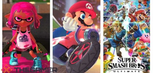 Smash Bros, Mario Kart, And Splatoon 2 Are Now Official Canadian And US High School Esports