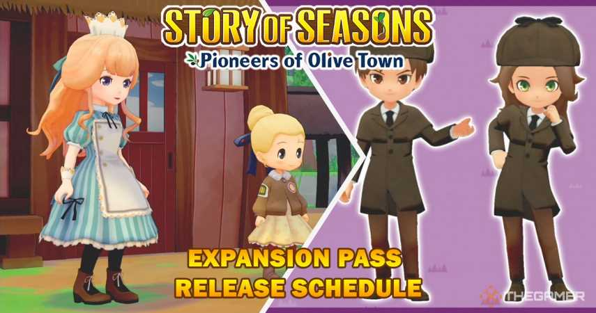 Story Of Seasons: Pioneers Of Olive Town – Expansion Pass Release Schedule