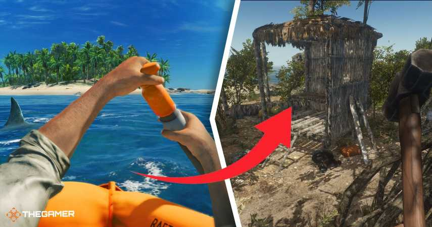 Stranded Deep: How To Make A House