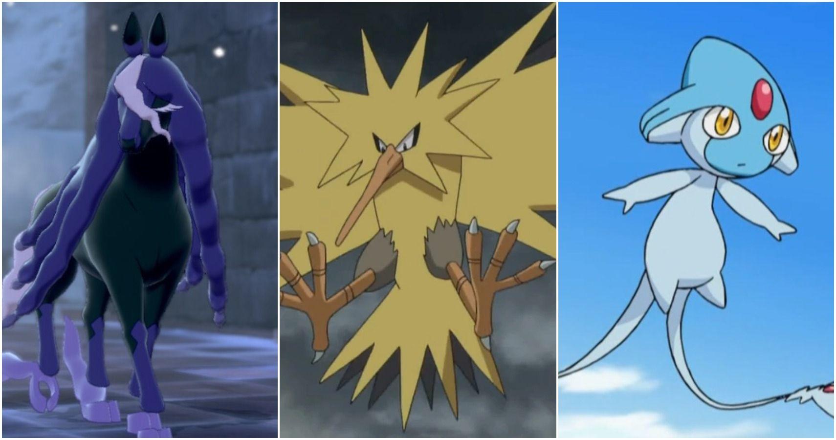 Sword & Shield: 15 Strongest Legendary Pokemon For Online Ranked Battles, Ranked