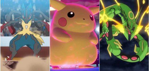 The 15 Best Temporary Pokemon Forms (Mega Evolution & Gigantamax)