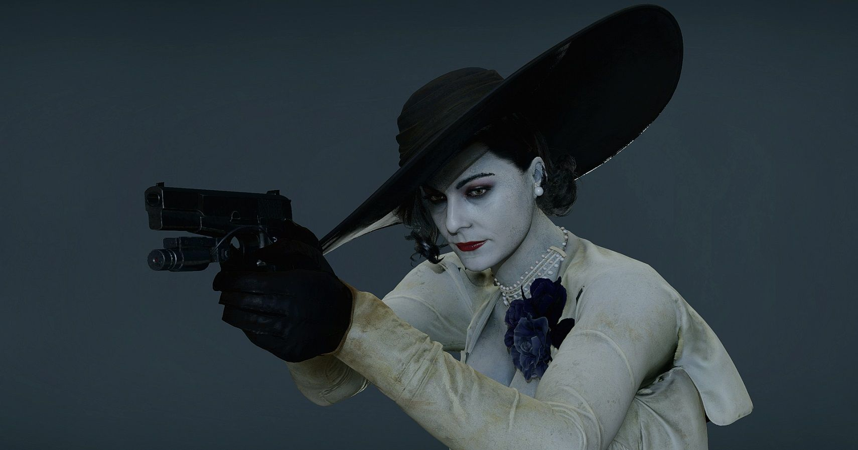 We Asked Modders Why They're So Obsessed With Resident Evil Village's Lady Dimitrescu
