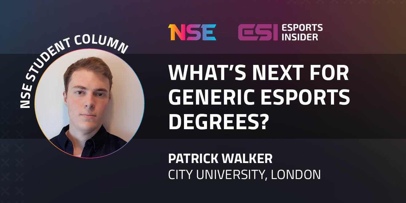What's next for generic esports degrees? – Esports Insider