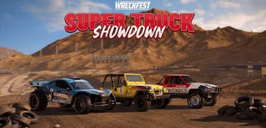 Wreckfest Revs Up With The Super Truck Showdown Tournament And Off-Road Car Pack