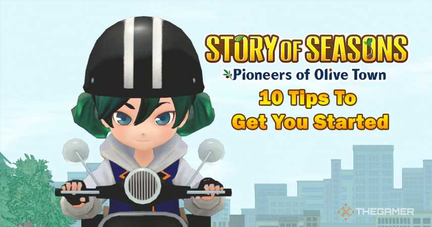 15 Tips To Get You Started In Story Of Seasons: Pioneers Of Olive Town