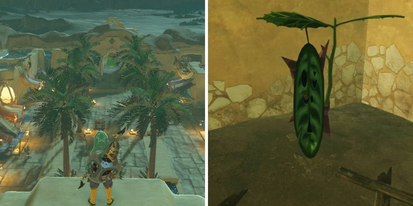 Age of Calamity: Finding All Korok Seeds In Gerudo Town