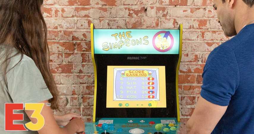 Arcade1Up Announces New Simpsons Arcade Cabinet
