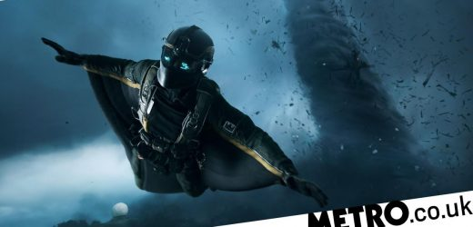 Battlefield 2042 gameplay trailer shows a 128-player battle in action