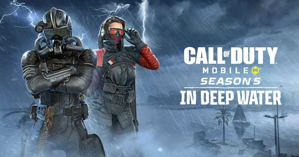Call Of Duty Mobile Season 5 Is Called In Deep Water