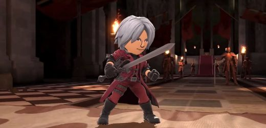 Dante from the Devil May Cry series coming to Smash Bros. as Mii Fighter