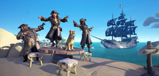 Everyone can dress like Jack Sparrow in Sea of Thieves soon