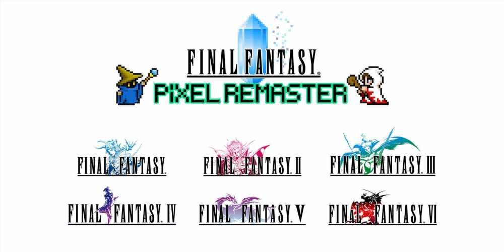 Final Fantasy Pixel Remaster Series Begins Launching In July
