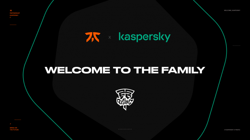 Fnatic secures global partnership with Kaspersky – The Esports Observer