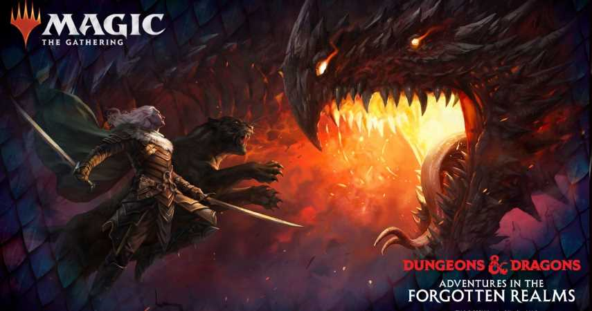 Magic: The Gathering's D&D Set Comes With Explorable Dungeons In Card Form