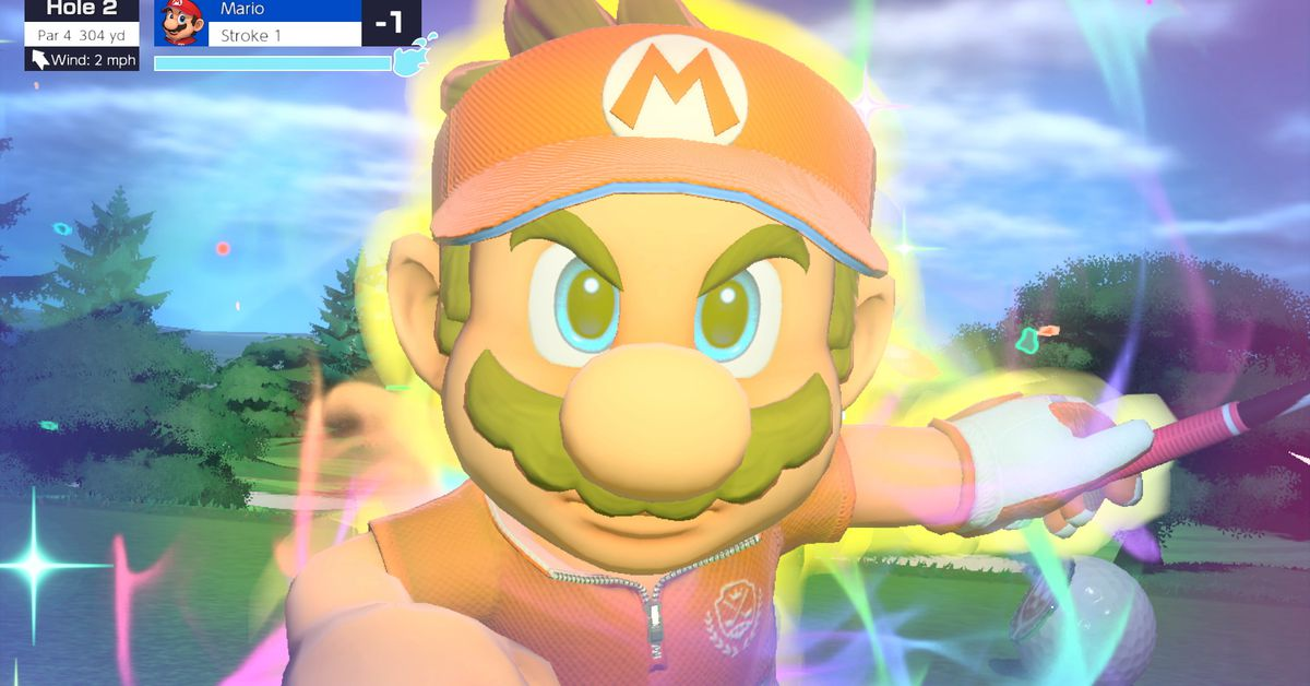 Mario Golf: Super Rush puts a serious swing into its zany rounds