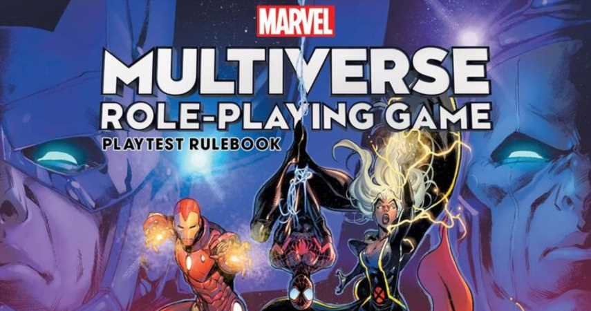 Marvel To Release A New Tabletop RPG With 'D616' System In 2022