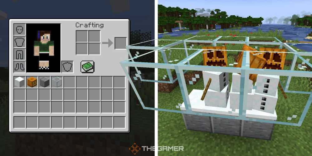 Minecraft: How To Make A Snow Farm