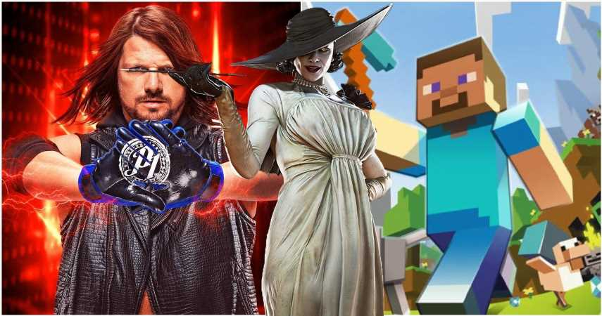 Modders Add Lady Dimitrescu To WWE, Minecraft And More