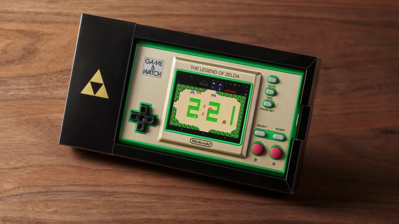 New Game & Watch System Collects Earliest Zelda Games