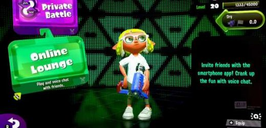 Nintendo will discontinue the Splatoon 2 Online Lounge