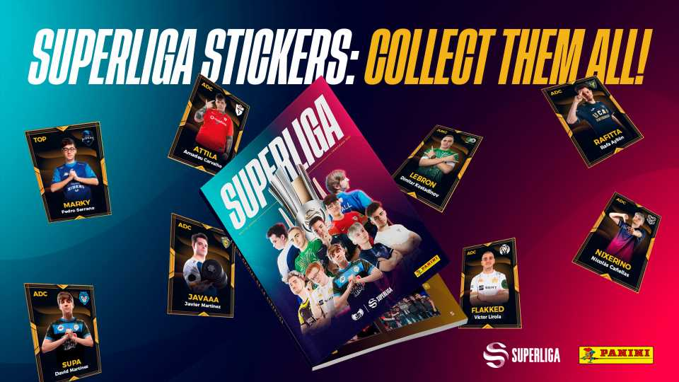 Panini partners with LVP to release Superliga sticker album – Esports Insider