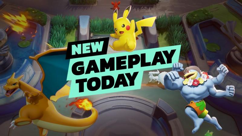 Pokémon Unite – New Gameplay Today