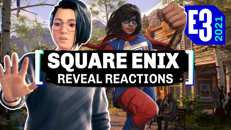 Square Enix Presents Summer Showcase E3 2021 Watch Along With Game Informer