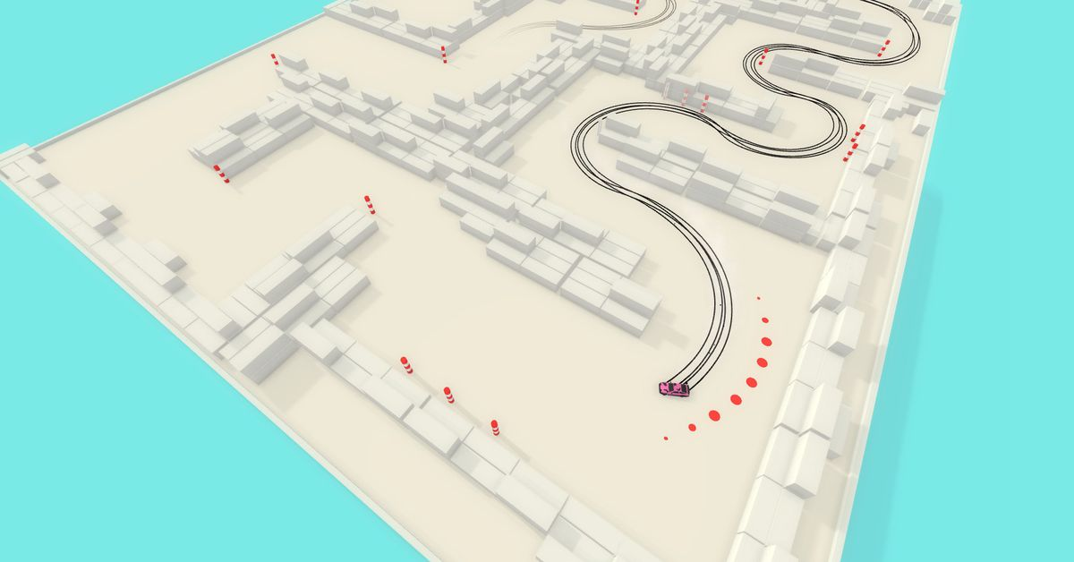 Stylish racer Absolute Drift is free on GOG.com