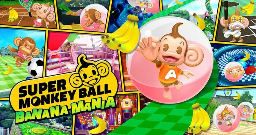 Super Monkey Ball Banana Mania Combines The First Three Titles With Remastered Visuals This Fall