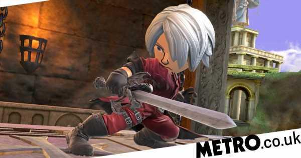 Super Smash Bros. Ultimate: Dante & Shantae Mii costumes break fans' hearts
