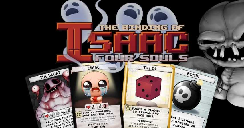The Binding Of Isaac's Four Souls Requiem Kickstarter Raises Over $2 Million In Opening Hours