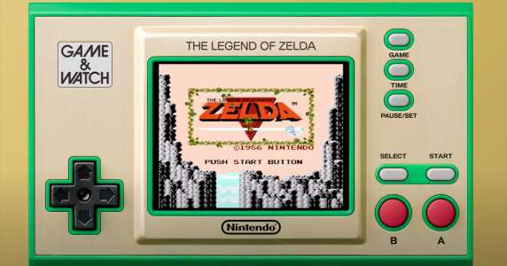 The Legend of Zelda Game & Watch celebrates the series' 35th anniversary