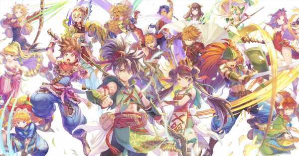 The Mana series is getting two new games and an anime series