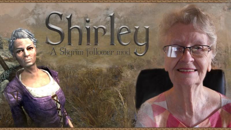 This Skyrim Mod Gives You Grandma Shirley As A Follower