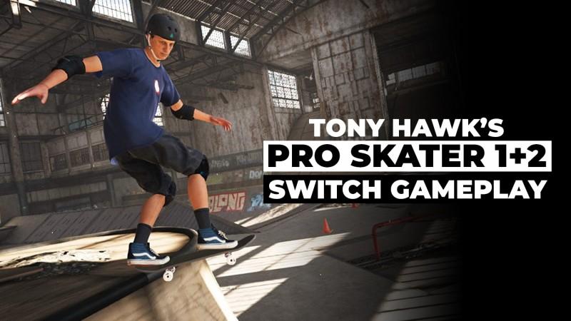 Tony Hawk's Pro Skater 1+2 Switch Gameplay Comparison