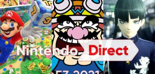 WarioWare, Mario Party Superstars and Shin Megami Tensei V ALL coming to Switch in 2021