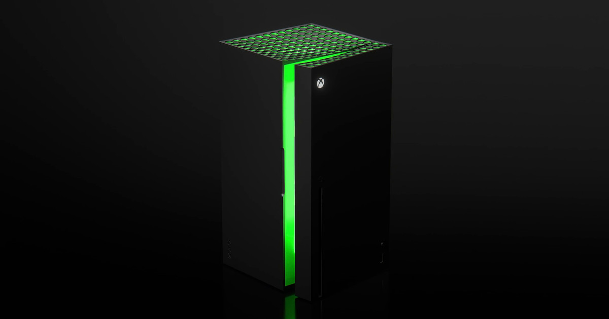 You'll be able to buy an actual Xbox Mini Fridge later this year