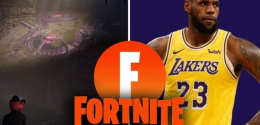 Fortnite 17.20 update release date news, Underground POI, Invading Troops, LeBron skin