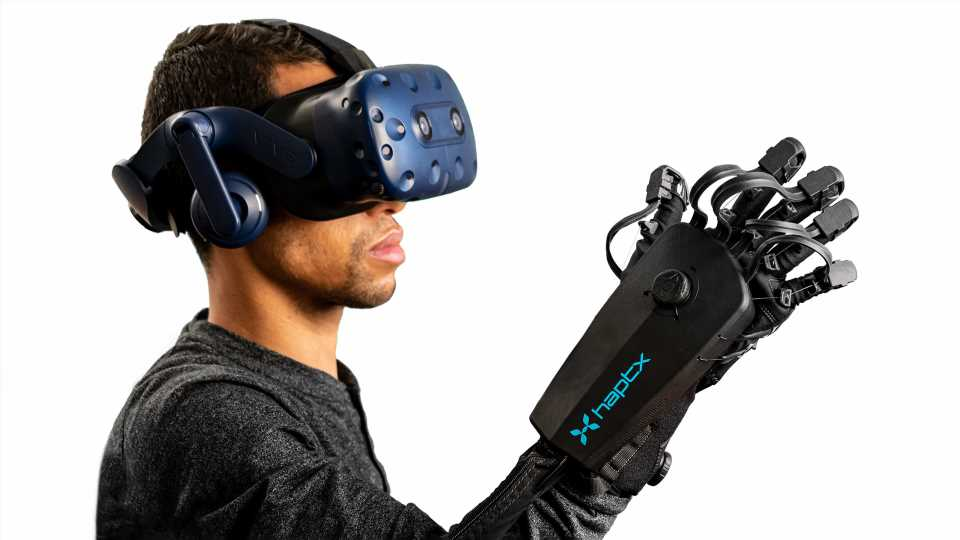 Haptic VR Glove Company HaptX Raises $12 Million in New Funding