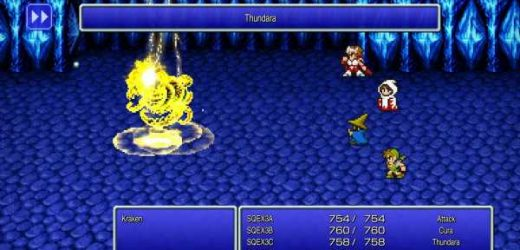 Here's how to swap out the tiny Final Fantasy font in the remasters