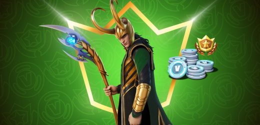 Loki brings his shenanigans to Fortnite for the July Crew Pack